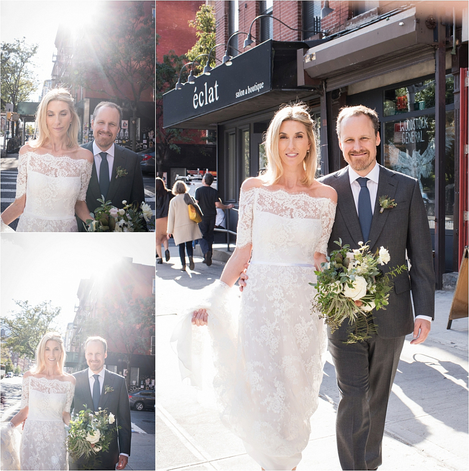 A High Line Hotel Wedding - Stylish Wedding with Savory Tarts! | NYC