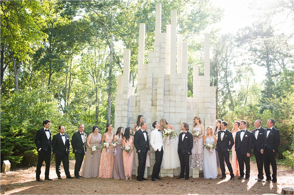 Longhouse Reserve Wedding   East Hampton, NY