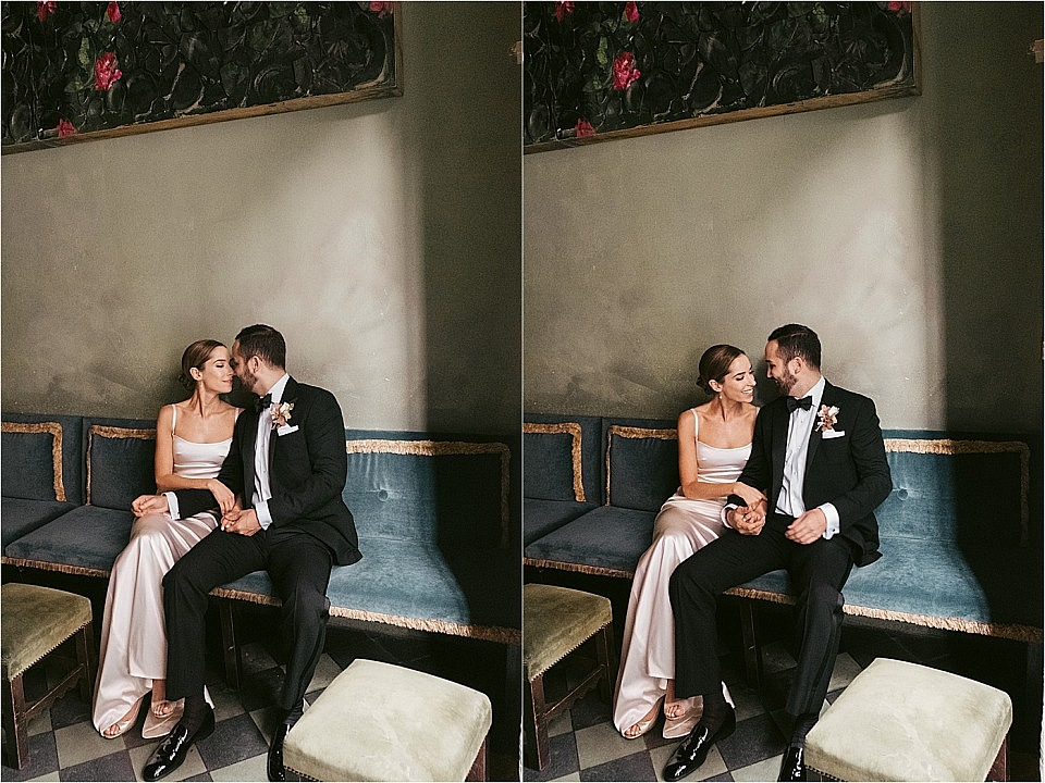 Sexy Gramercy Park Hotel Wedding